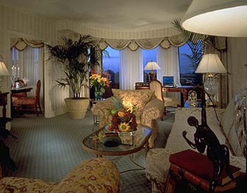 Suite at the Omni Shoreham in Washington D.C.